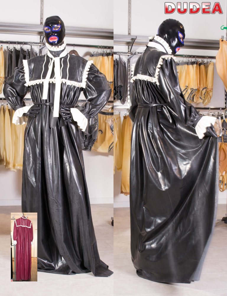 Viktorian. bodenlages Nachtkleid